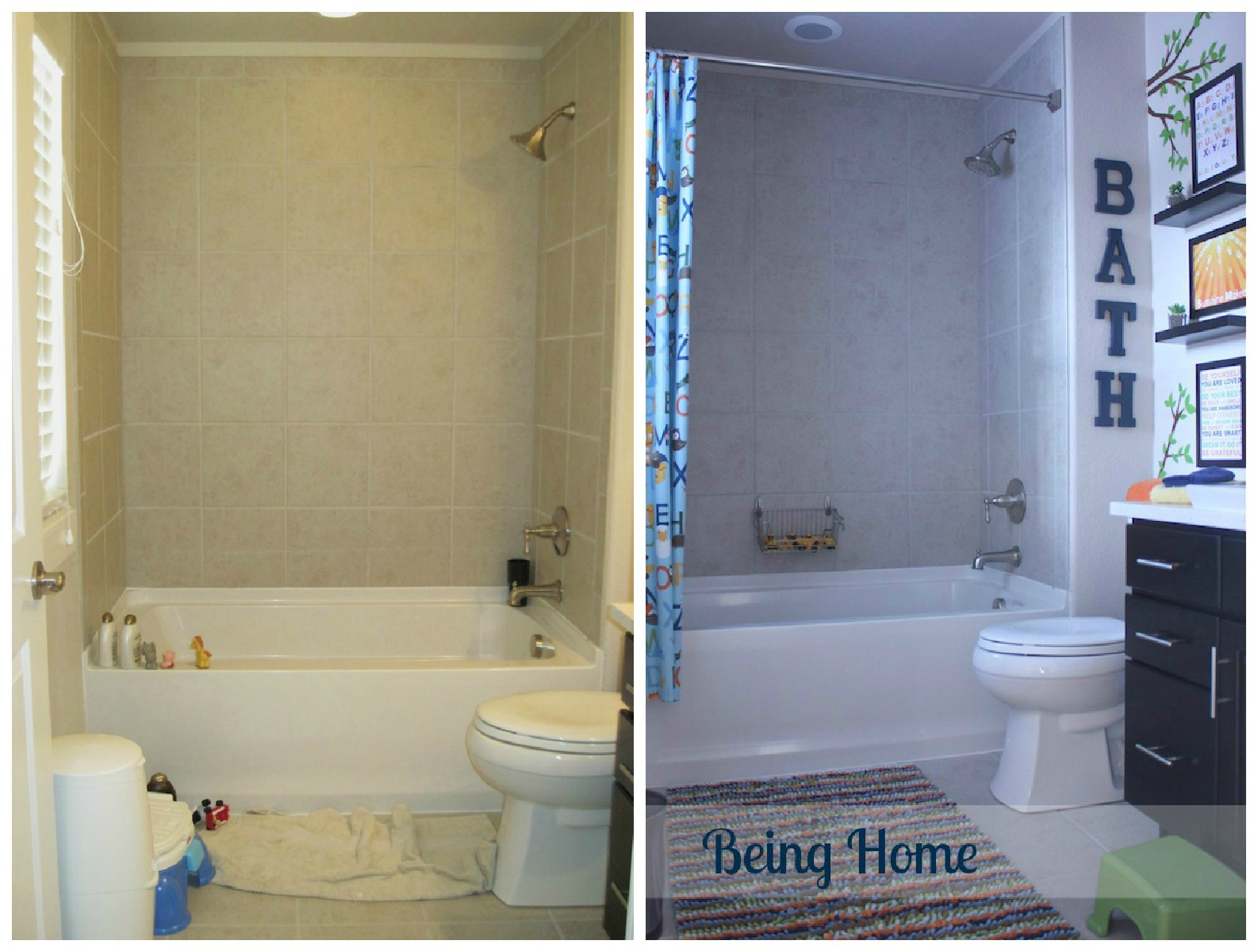 Ikea Bathroom Before After E And Design Inspiration