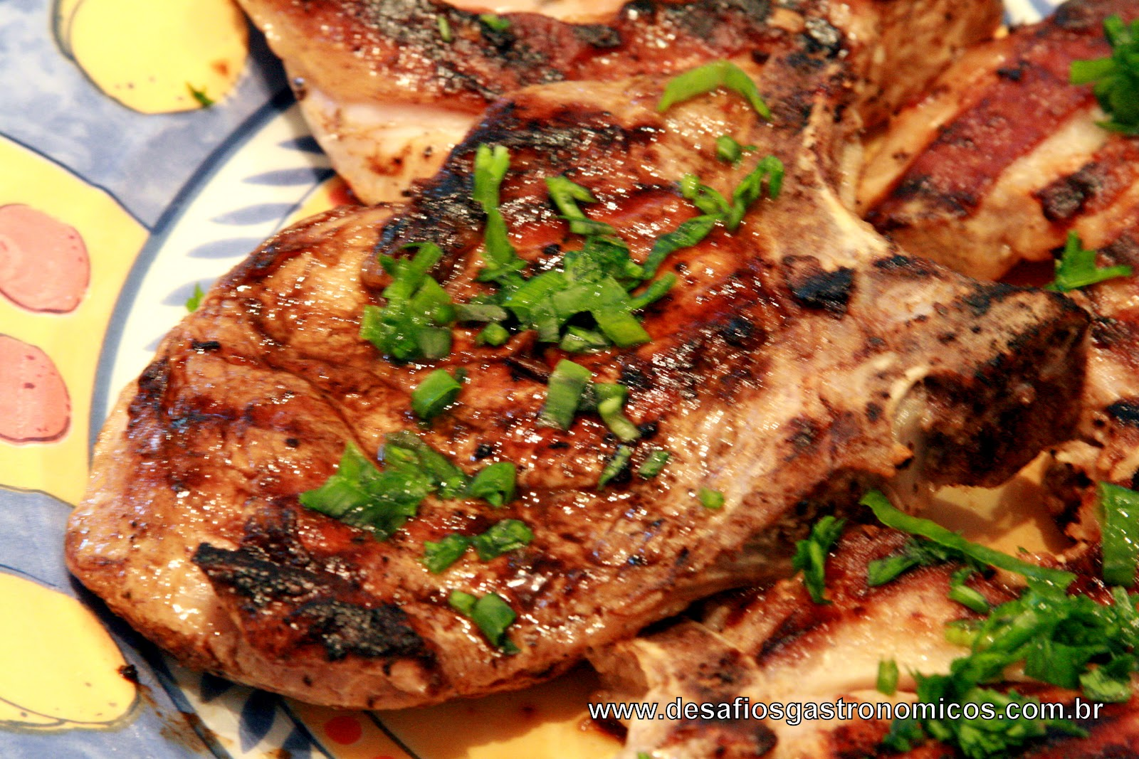 Desafios Gastronômicos: Bisteca Grelhada