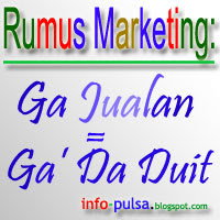 PP / DP BBM : Rumus Marketing