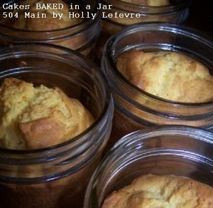 Bake Cakes in a Jar
