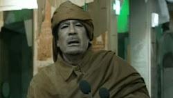 ''زنجا زنجا''.. أغنية جديدة للقذافي