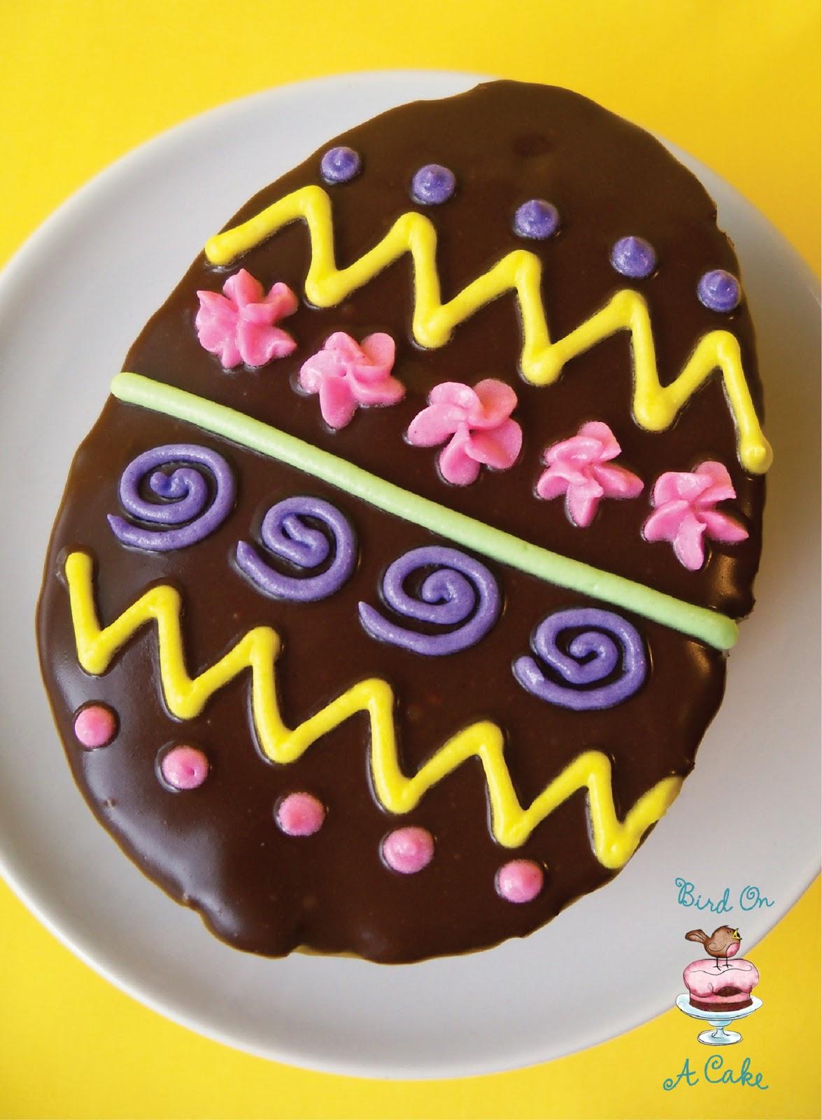 Bird On A Cake: Chocolate Easter Egg Mini Cakes