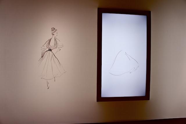 Dior sketches