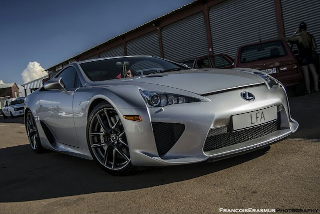lexus lfa south africa zwartkops