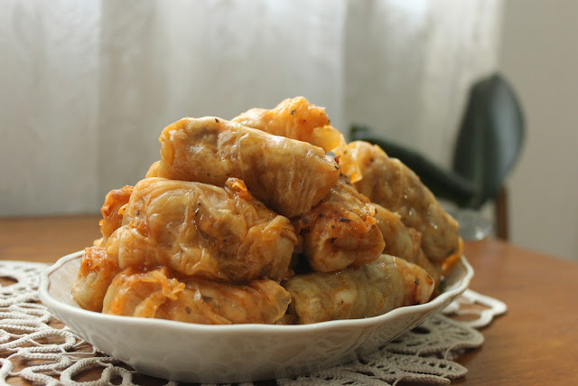 Sarmale(cabbage stuffed with mince) – a traditional romanian dish