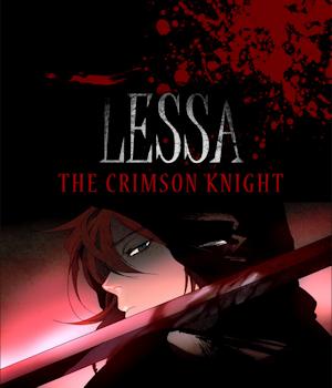 Lessa the Crimson Knight Manga