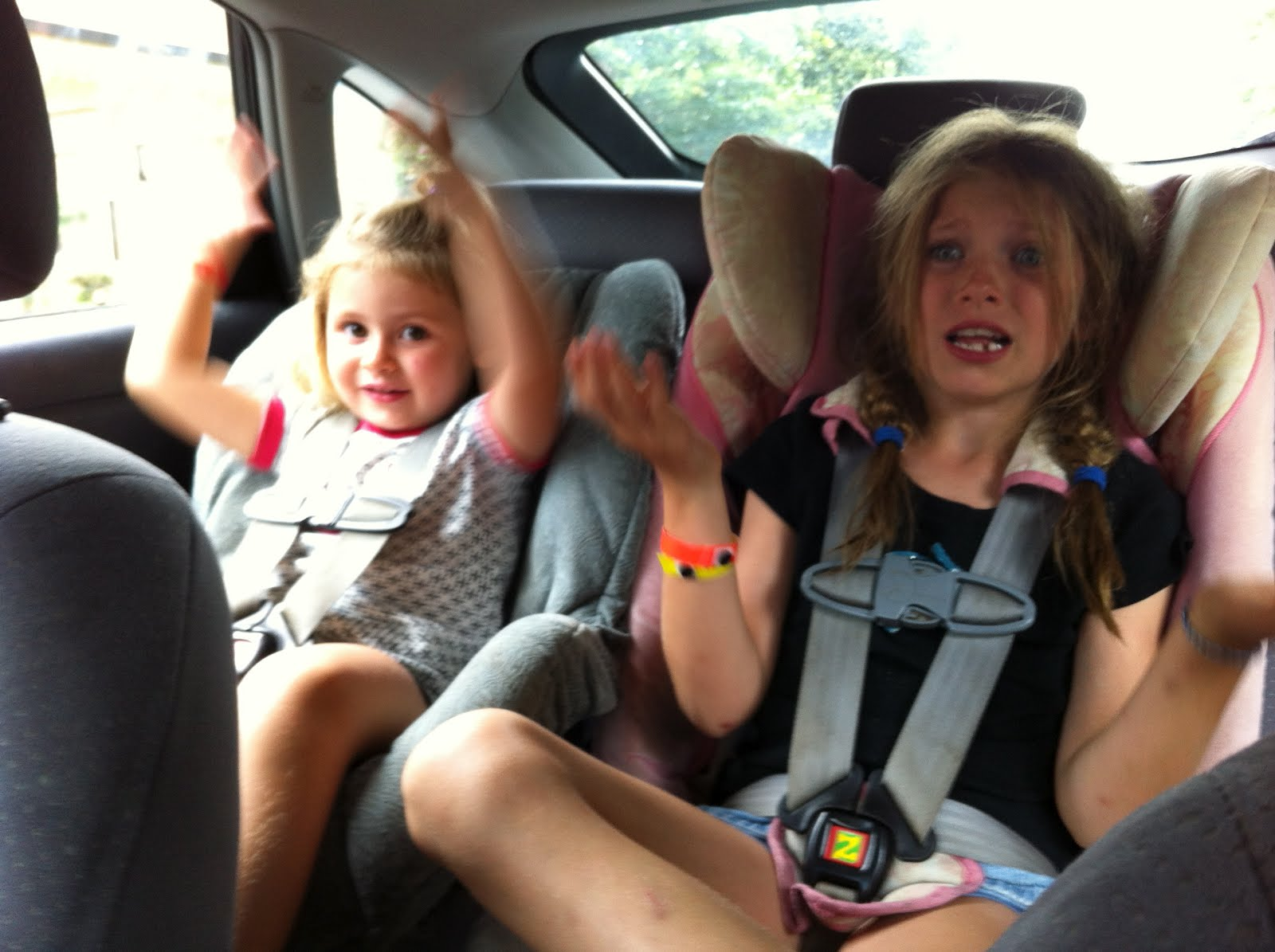 No Dashiki Required: Car Seat Dancing