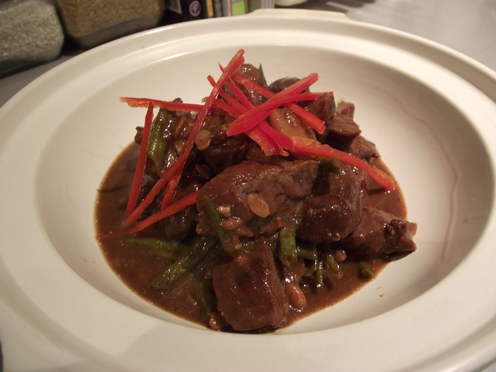 PECKHAM RYE EATS!: Chinese braised pork cheeks