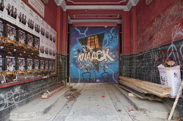 Baustelle ehem. Knaack Klub, Greifswalder Straße 224, 10245 Berlin, 02.01.2014