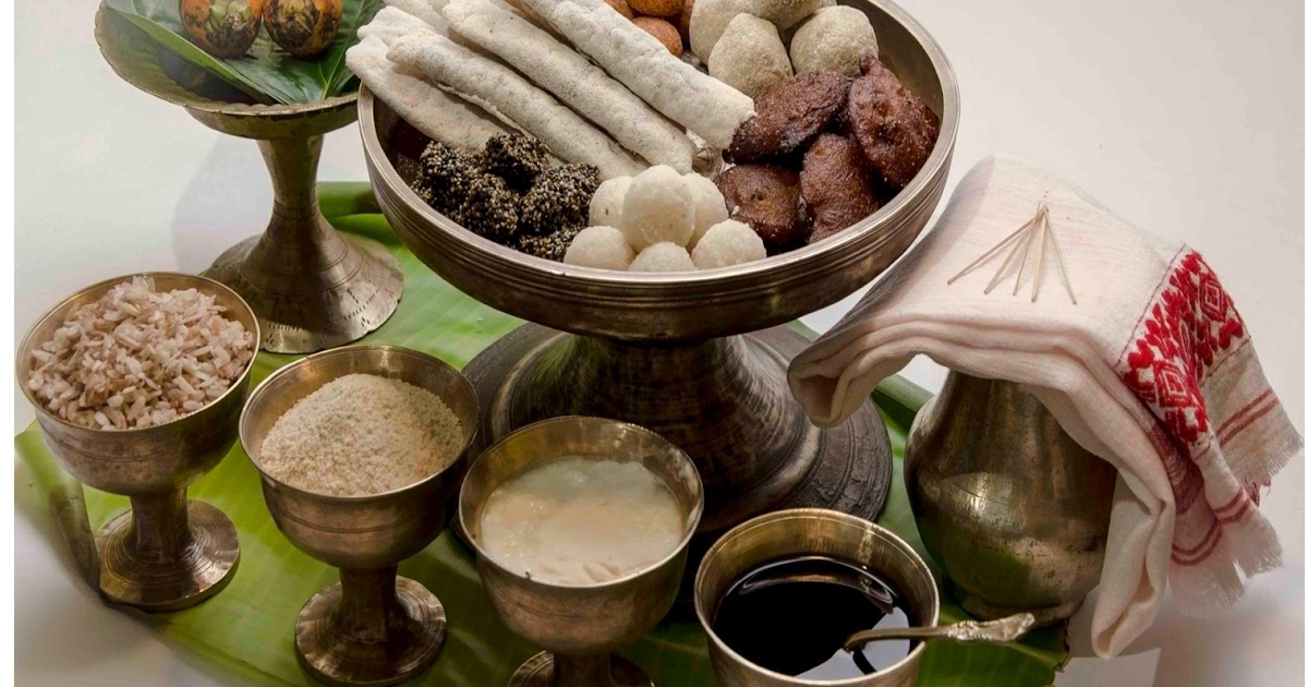 north east ethnic assam assam ethnic food and beverages