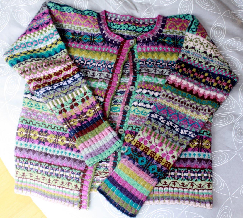 Fair Isle Knitting Patterns : Fair isle free knitting patterns download crochet