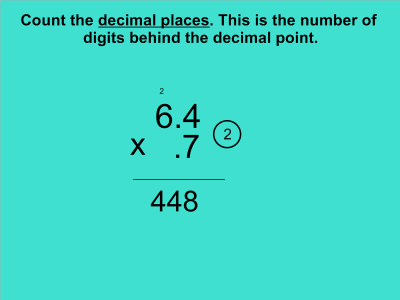 Homework help multiplying decimals