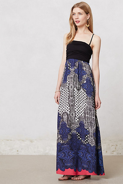 Breakfast at anthropologie post labor day anthropologie sale for Anthropologie mural maxi dress