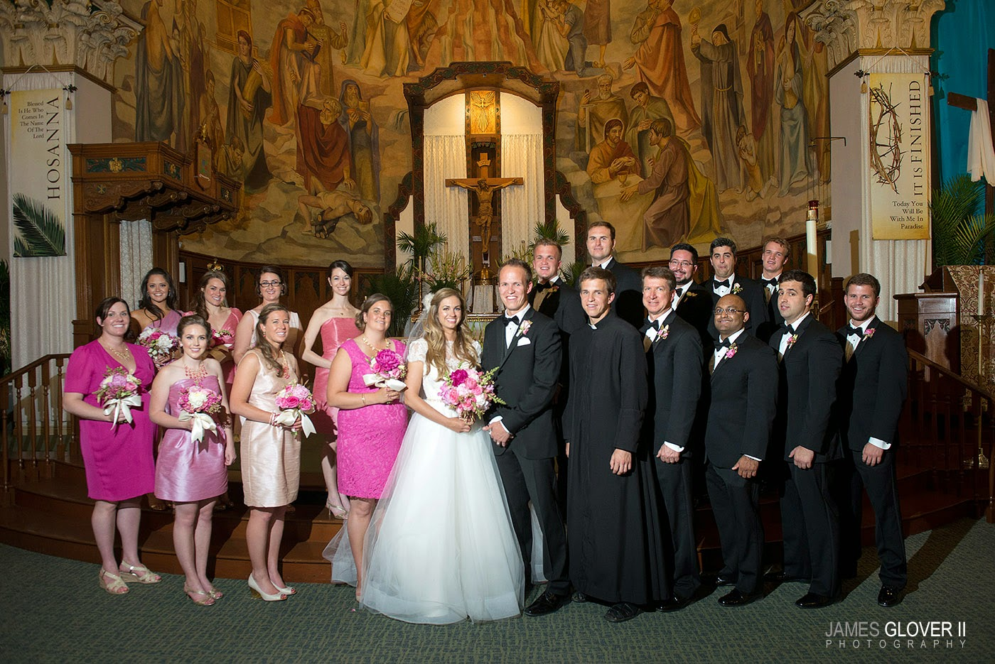 St Thomas Aquinas Catherdral Reno Wedding // James Glover Photography // Take the Cake Event Planning