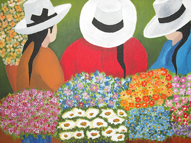 Vendedoras de flores