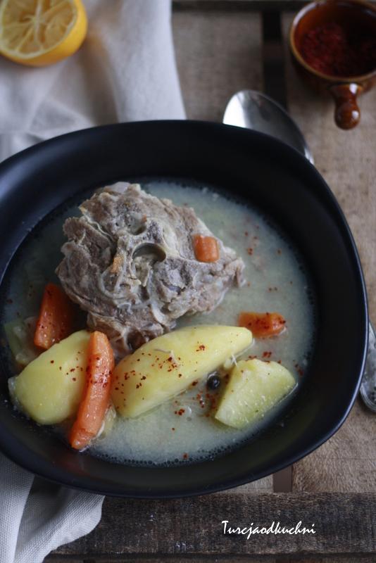 Gotowane mięso / Et haşlaması