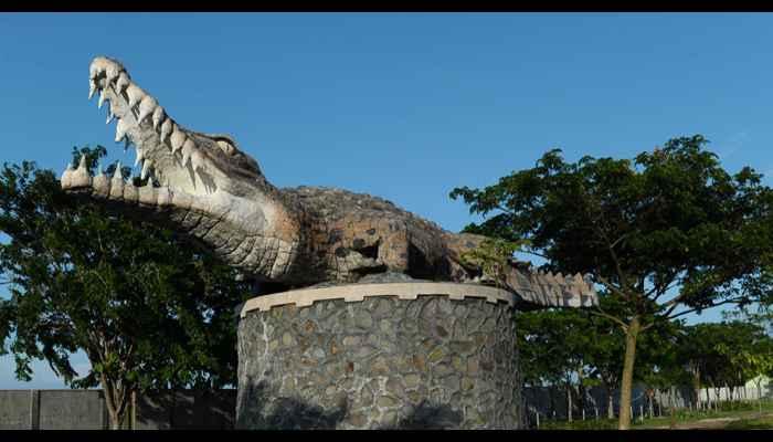 Tempat Wisata Yang Murah Tapi Asik di Tangerang - Taman Buaya Tanjung Pasir