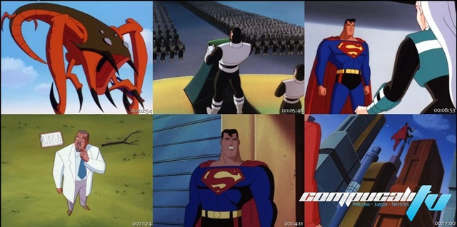 DC Comics Super Villains: Superman Worlds At War DVDRip Latino