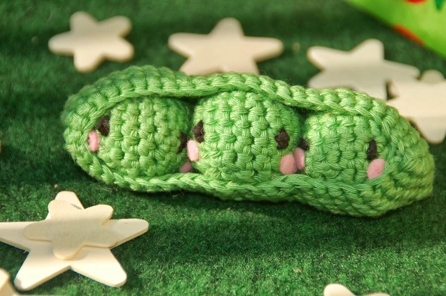 Los guisantitos de crochet, ¿queréis verlos?