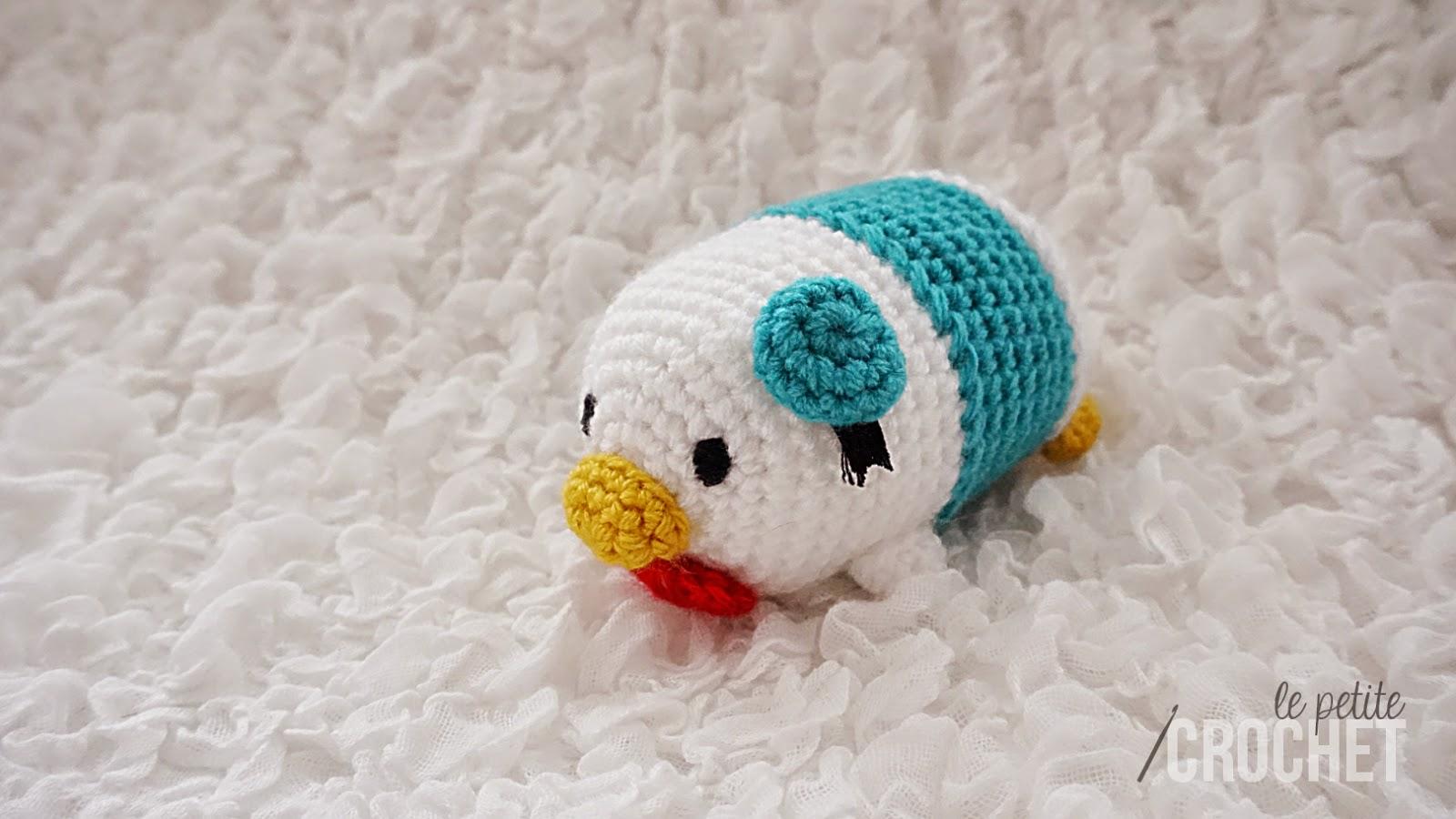 Amigurumi Tsum Tsum Free Pattern : le petite crochet: Tsum Tsum Crochet Project for 2015