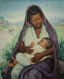 """The """"Wayside Madonna"""" by Edith Catlin Phelps"""