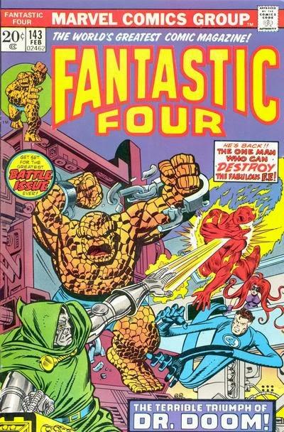 Fantastic Four #143, Dr Doom