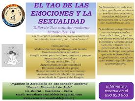 TALLER TAO DE LAS EMOCIONES Y LA SEXUALIDAD