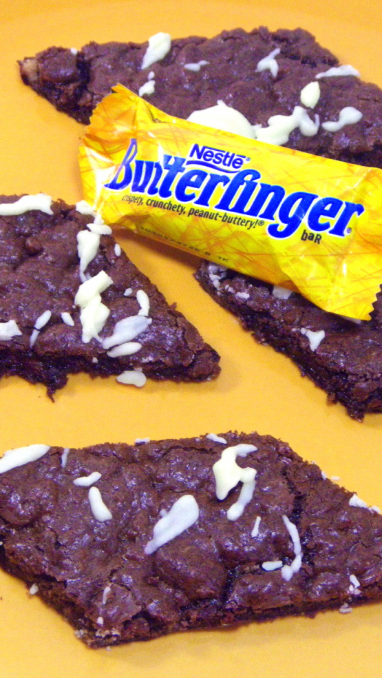 ... Cook: Butterfinger Brownie Bars (Chocolate Peanut Butter Cookie Bar