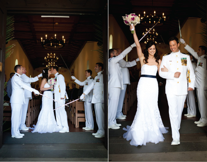 Nautical Wedding with Pink and Magenta Accents - Belle the Magazine ...