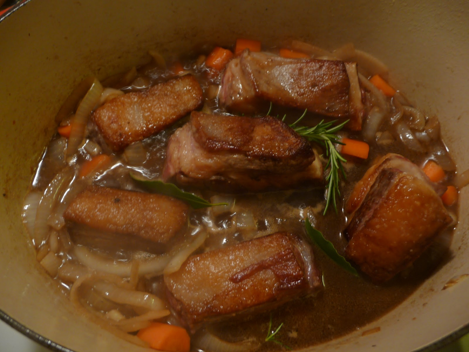 ... Portland: Short Ribs Braised in Porter with Molasses-Rosemary Glaze