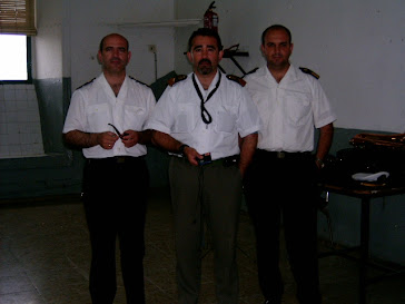 Con compañeros de la Banda de Infantería de Marina del Tercio Sur