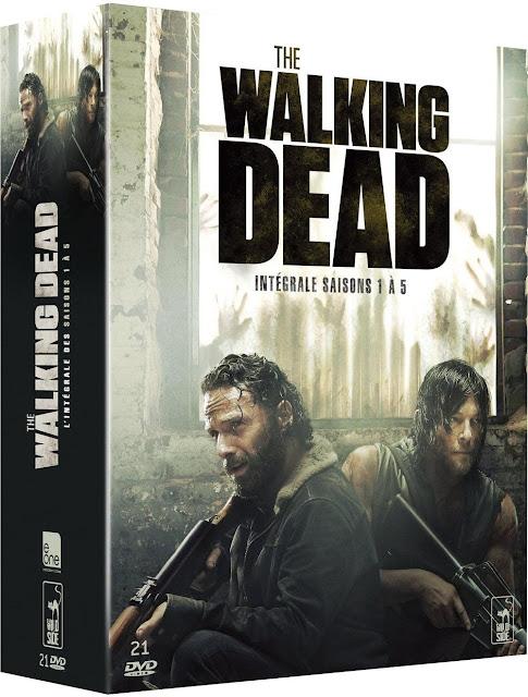 the walking dead coffret dvd blu-ray