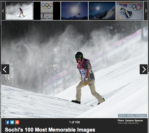 Gallery of Sochi's 100 most memorable images