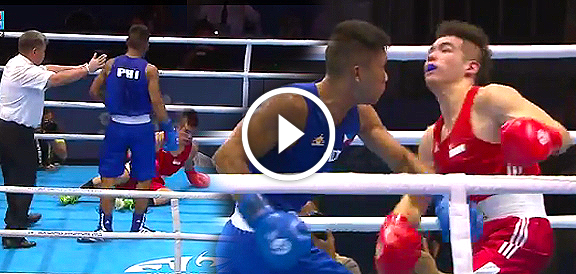 Eumir Felix Marcial BRUTAL Knockout of Jia Wei Tay (VIDEO) SEA Games 2015