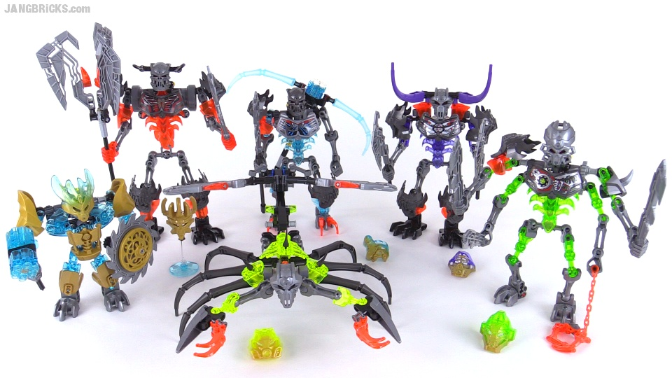 bionicle stars combiner instructions