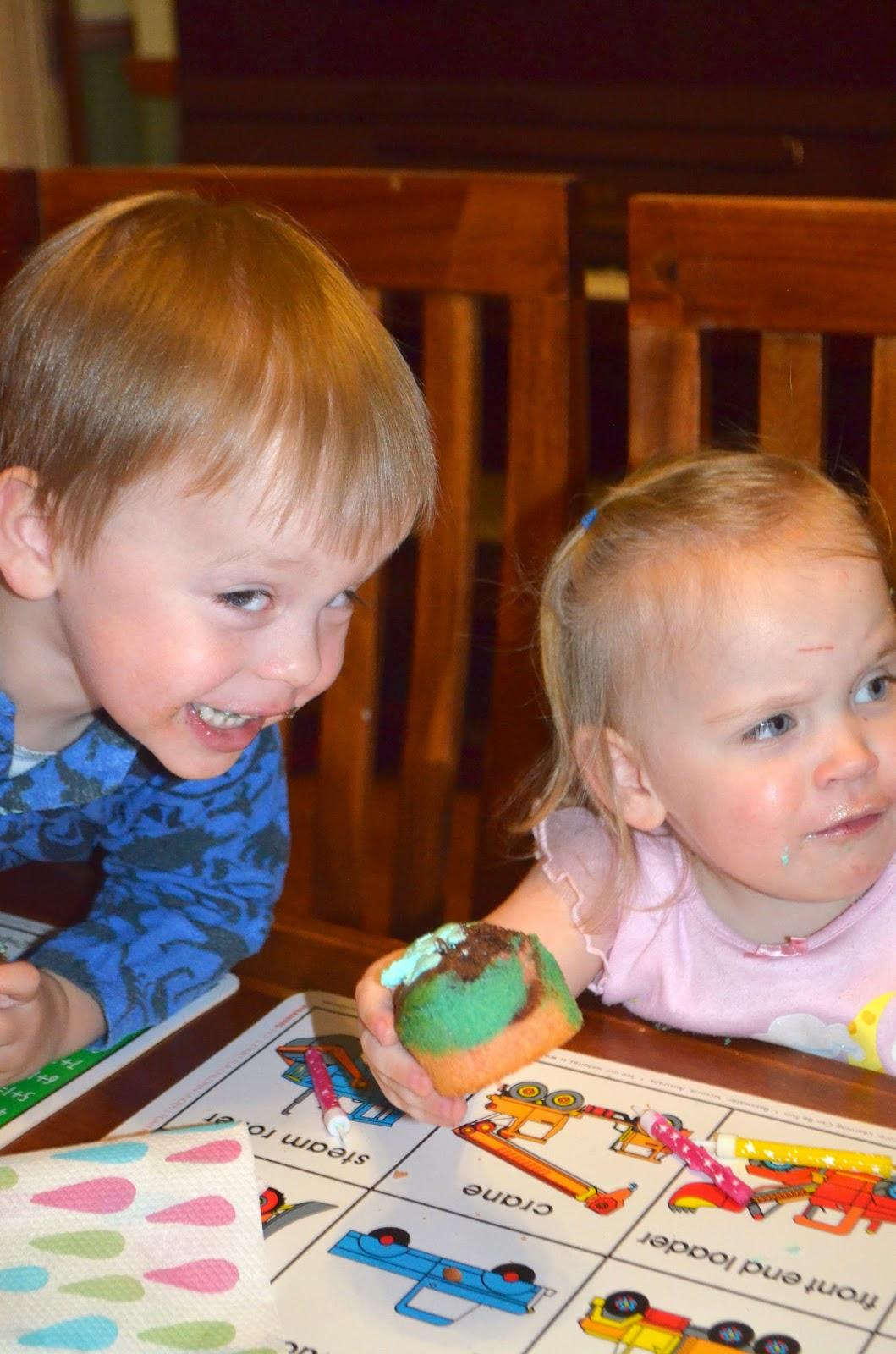 Triplets 3rd Birthday cake