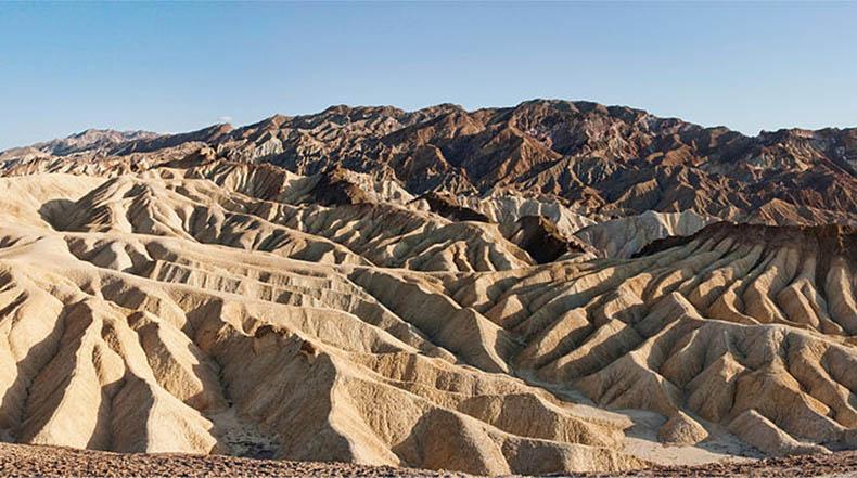 Zabriskie Point, en el Parque Nacional del Valle de la Muerte