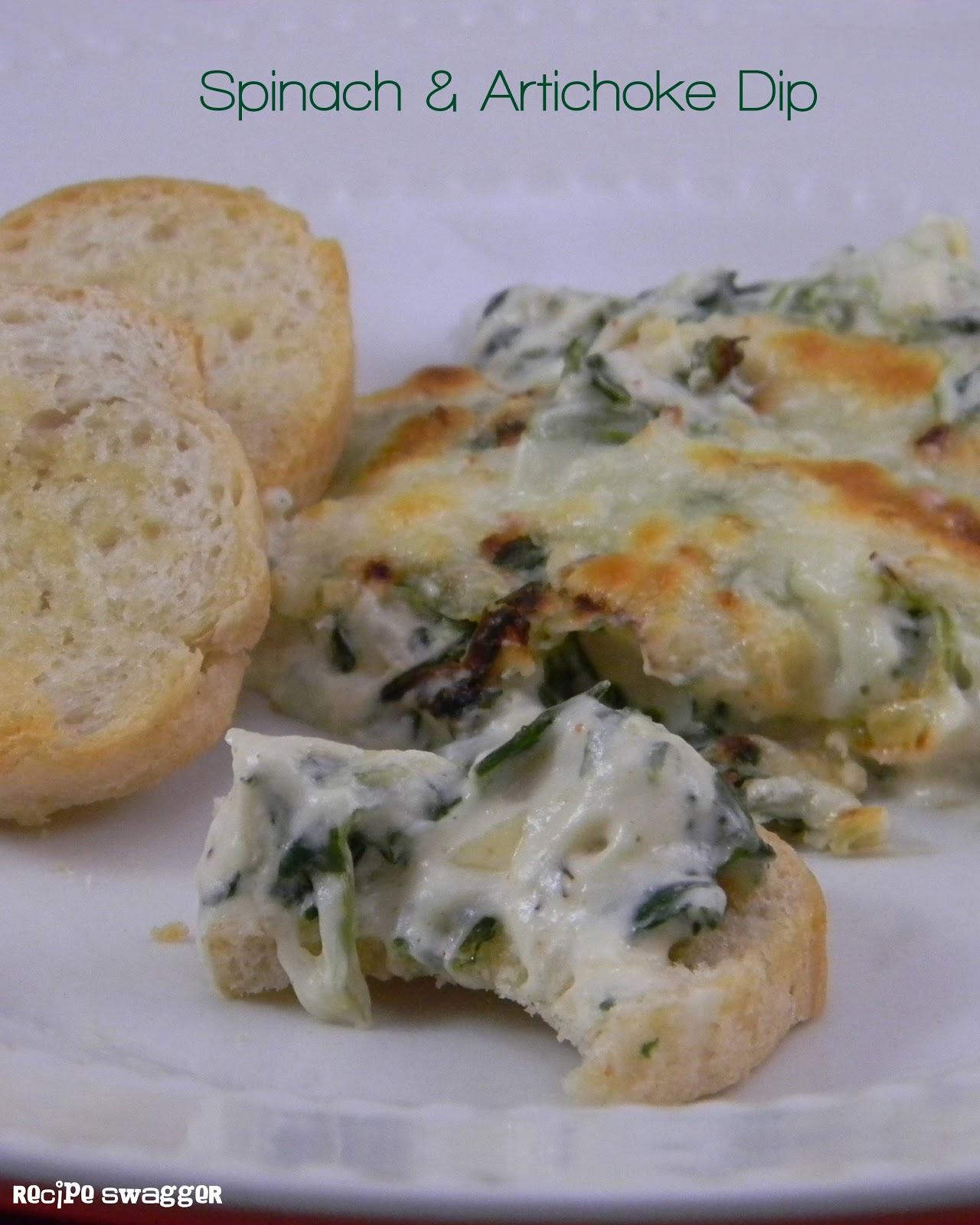 Recipe Swagger: Spinach & Artichoke Dip