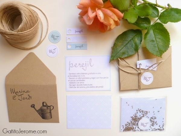 regalar semillas boda