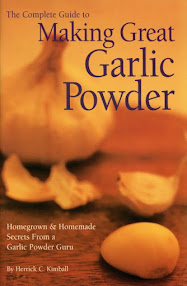 Make Your Own Garlic Powder...