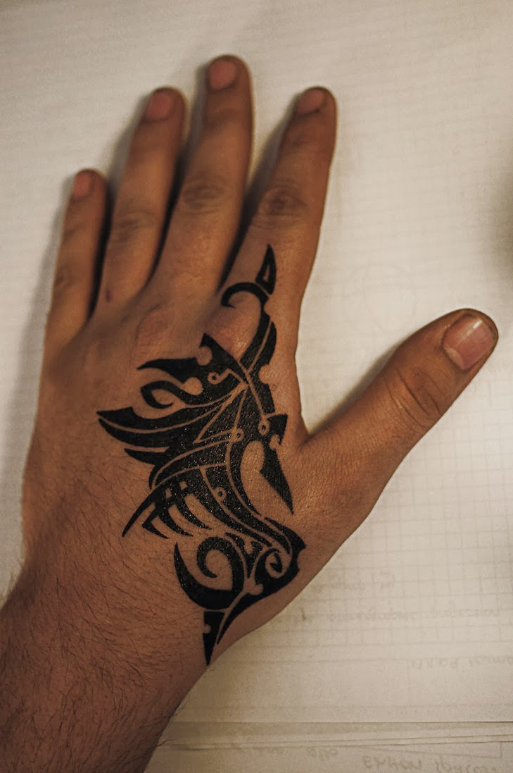 tattoo simple in hand for women and men