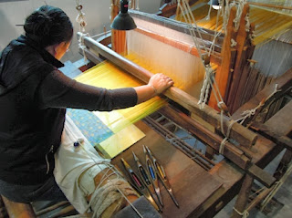 Silk Museum, Suzhou, China, hand loom