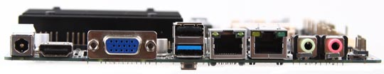 GIADA MI-J1900DL-N motherboard