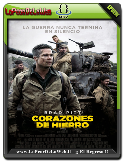 Corazones de Hierro (2014) BRrip 720p Latino-Ingles