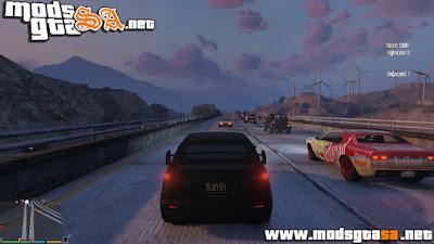V - Spawn Naturalmente de Carros no Trânsito para GTA V PC