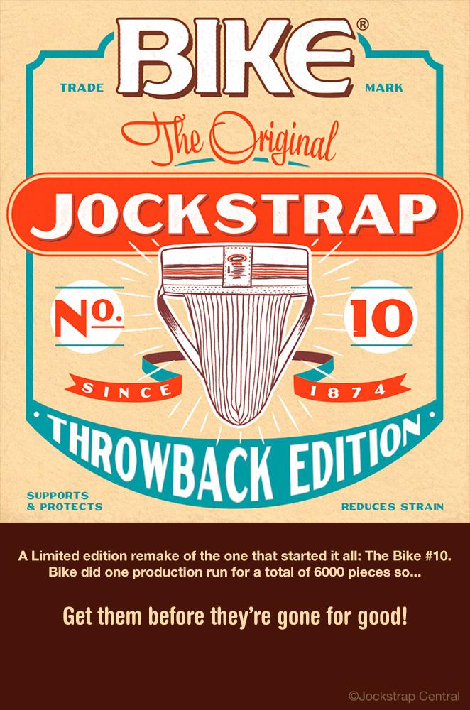 Bike No.10 vintage limited edition jockstraps at Jockstrap Central