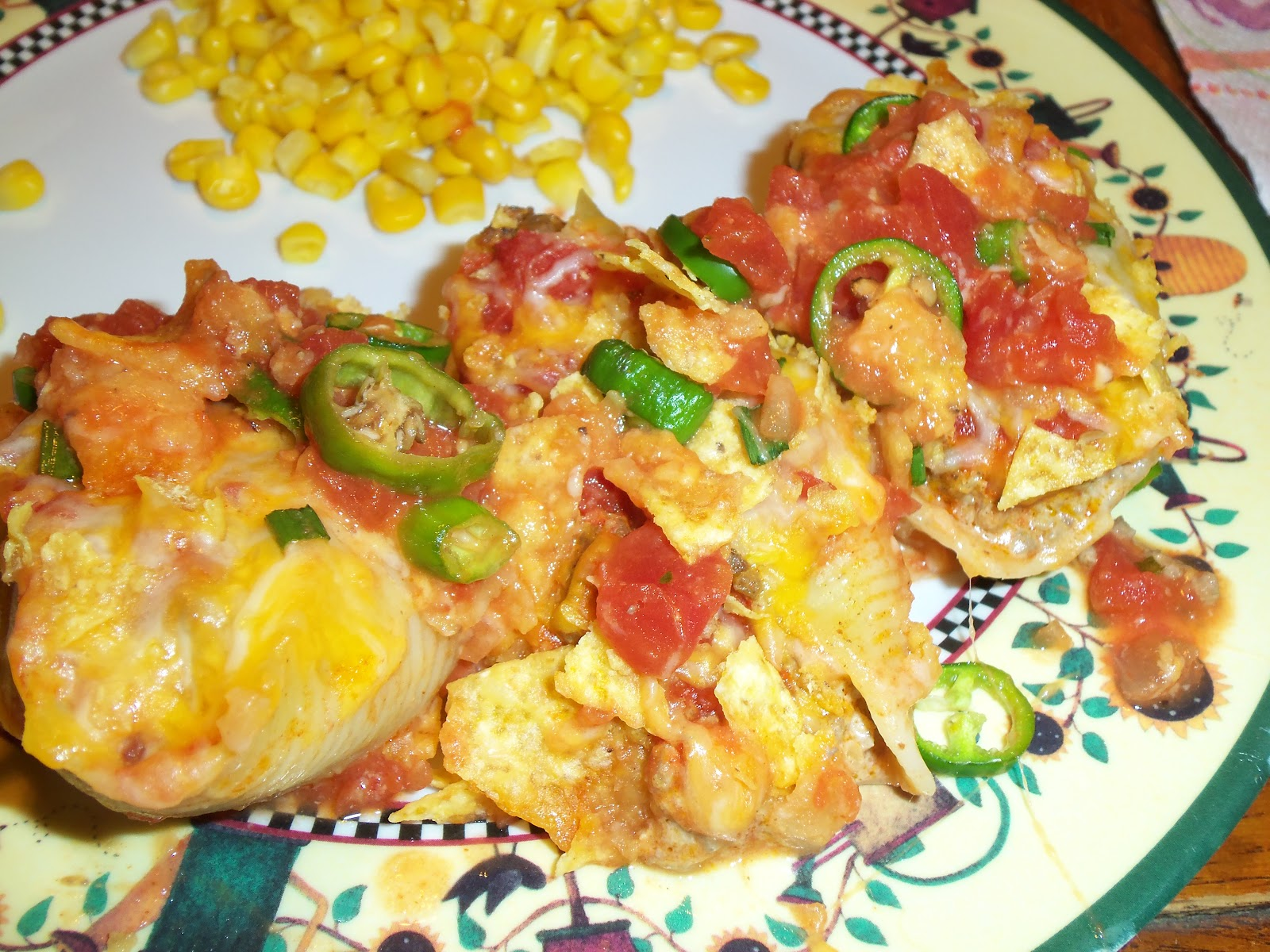 live. love. scrap.: Recipe of the Week #28-Taco Stuffed Shells