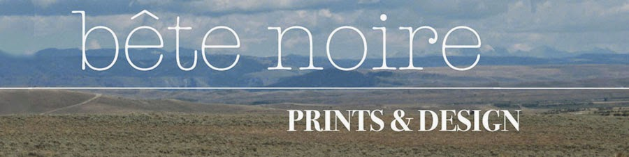 Bete Noire Prints and Design