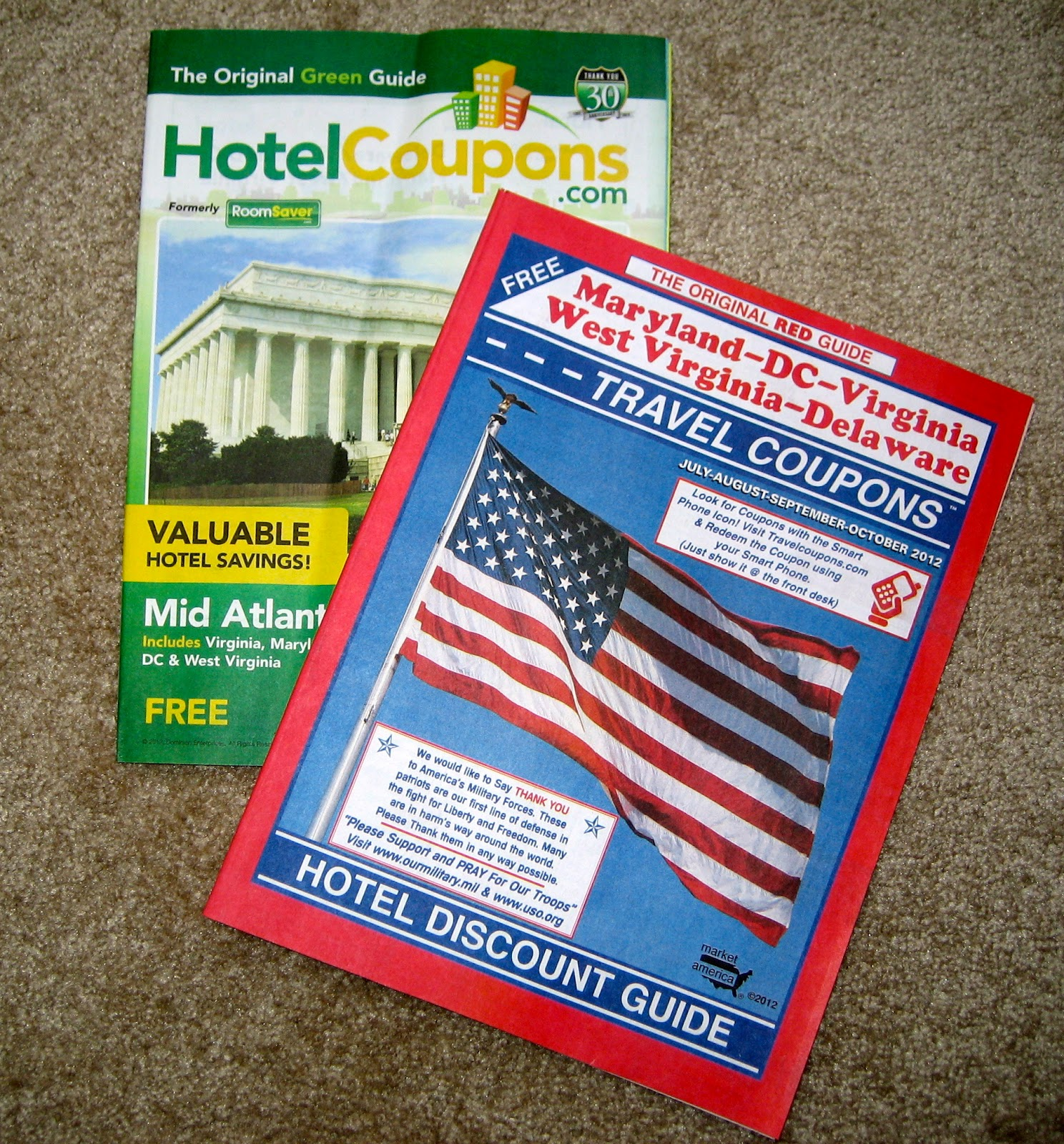 Motel discount coupons