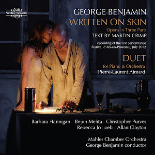 George Benjamin - Written on Skin - NI 5885/6